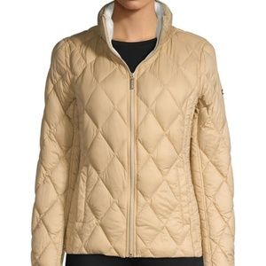Michael Kors Quilted Light Jacket Coat Size S
